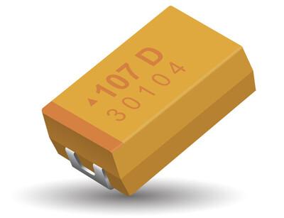 100µF Tantalum Capacitors 10V 2312