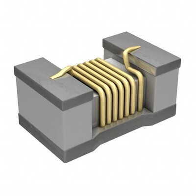 100nH Unshielded Multilayer Inductor 200mA 1.6Ohm Max 0402 (1005 Metric)