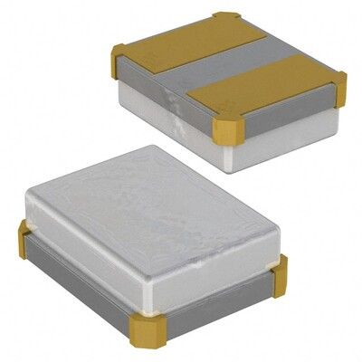 16MHz ±100ppm Crystal 8pF 100 Ohms 2-SMD, No Lead