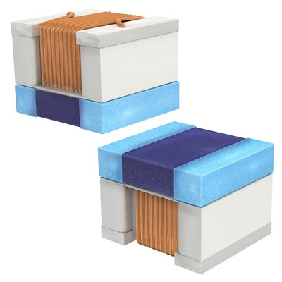15nH Unshielded Wirewound Inductor 600mA 170mOhm Max 0805 (2015 Metric)
