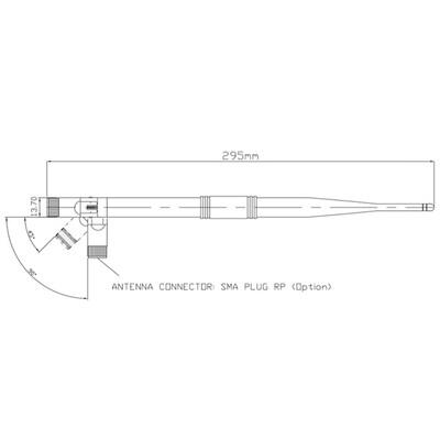 2.4-2.5GHz 7 dBi Anten