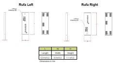 2.4 GHz Rufa SMD WiFi Anten - Thumbnail