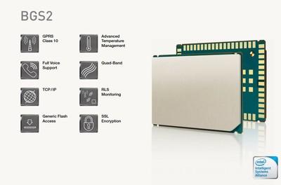 BGS2-W Rel.1, 2G GSM / GPRS Modül Quad Band