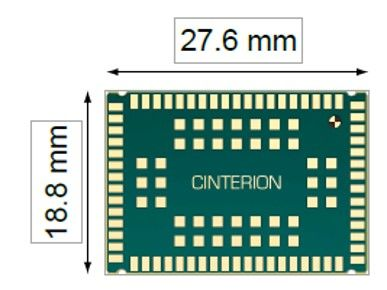 BGS2-W Rel.2, 2G GSM / GPRS Modül Quad Band