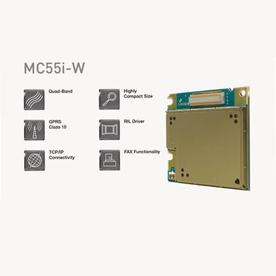MC55i-W, 2G Quad-Band Modül (Konnektörlü)