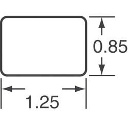 30 Ohms @ 100MHz 1 Power Line Ferrite Bead 0805 (2012 Metric) 4A 14mOhm - Thumbnail