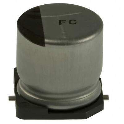 330µF 25V Aluminum Electrolytic Capacitors Radial, Can - SMD 1000 Hrs @ 105°C