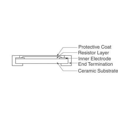 3.4 kOhms ±0.5% 0.1W, 1/10W Chip Resistor 0603 (1608 Metric) Thin Film
