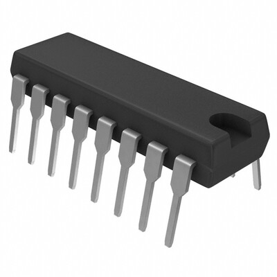 4 Circuit IC Switch 1:1 70Ohm 16-PDIP
