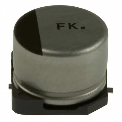 470µF 16V Aluminum Electrolytic Capacitors Radial, Can - SMD 2000 Hrs @ 105°C