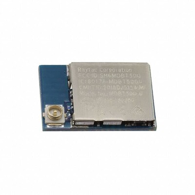 802.15.4, General ISM 1GHz Bluetooth v5.0 Transceiver Module 2.36GHz ~ 2.5GHz Antenna Not Included, U.FL Surface Mount