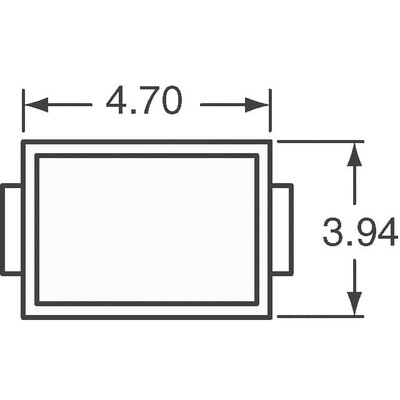 96.8V Clamp 6.2A Ipp Tvs Diode Surface Mount DO-214AA (SMB)