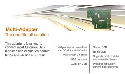 AH3/AH6/PHS8 Adapter Board (DSB-Mini için)