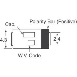 150µF 6.3V Aluminum - Polymer Capacitors 2917 (7343 Metric) 12mOhm - Thumbnail