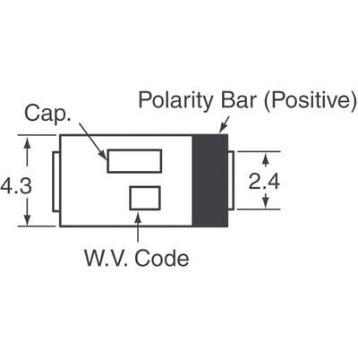 150µF 6.3V Aluminum - Polymer Capacitors 2917 (7343 Metric) 12mOhm