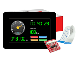Capacitive Graphic LCD Display Module - Thumbnail