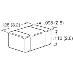 22µF ±20% 16V Ceramic Capacitor X7R 1210 (3225 Metric) - Thumbnail