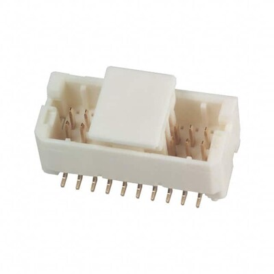 Connector Header Surface Mount 20 position 0.039