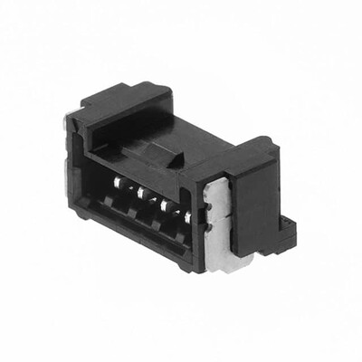 Connector Header Surface Mount, Right Angle 4 position 0.049
