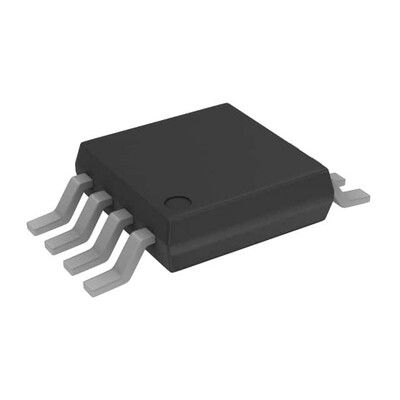 Differential Amplifier 1 Circuit Differential, Rail-to-Rail 8-MSOP