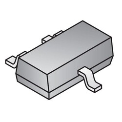Digital Switch Unipolar Switch Open Drain Hall Effect SOT-23-3 - Thumbnail