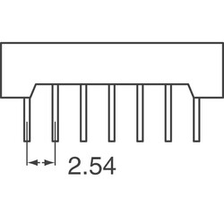 OSRAM Opto Semiconductors Inc. - Dot Matrix Display Module 5 x 7 Green 7-Bit ASCII (1)