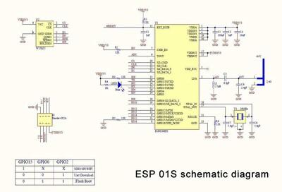 ESP-01S WiFi Modül