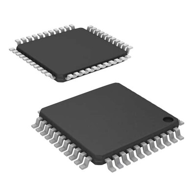Ethernet Controller 10/100 Base-T PHY SPI, Parallel Interface 44-TQFP (10x10)