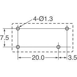 General Purpose Relay SPST-NO (1 Form A) 5VDC Coil Through Hole - Thumbnail