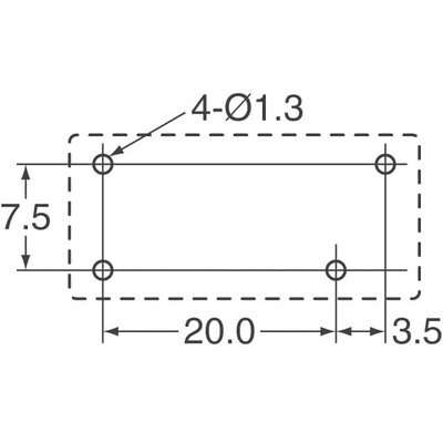 General Purpose Relay SPST-NO (1 Form A) 5VDC Coil Through Hole