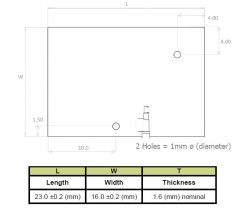 1559-1609 MHz GNSS/GPS Anten, 100 mm Kablo - Thumbnail