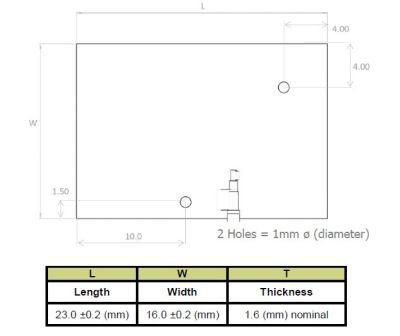 1559-1609 MHz GNSS/GPS Anten, 100 mm Kablo