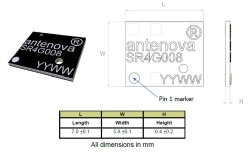 1559-1609 MHz GNSS Sinica Anten - Thumbnail