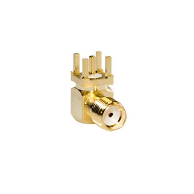RF Connector, 90° SMA