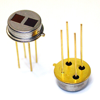 Integrated Dual-Channel Thermopile Sensor Module - Analog Output, TO