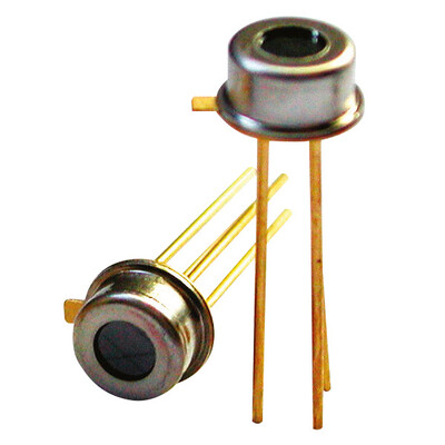 Miniature Single Thermopile Sensor, FOV: 120°,Thermistor Ref, CMOS compatible, TO46