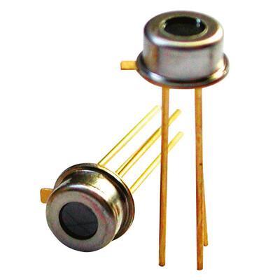 Miniature Single Thermopile Sensor, Thermistor Ref, CMOS compatible, TO46