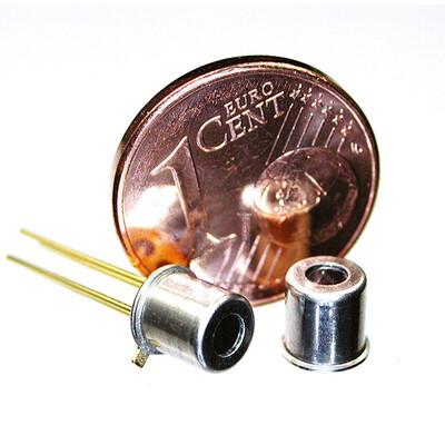 Single Thermopile Sensors with Lens Optics, TO46, Thermistor Ref