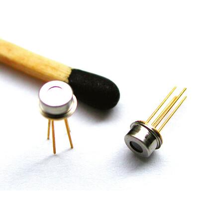 Miniature Single Thermopile Sensor, FOV: 95°, Thermistor Ref, CMOS compatible, TO46