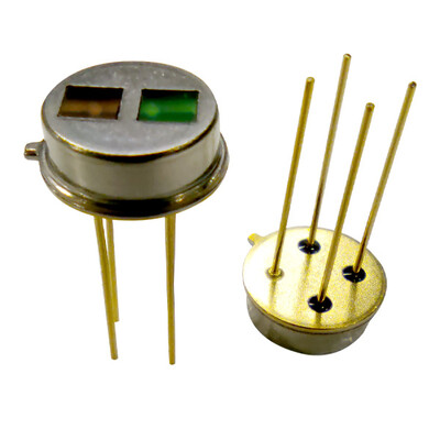 Multichannel Thermopile Sensor for a multichannel gas concentration measurement