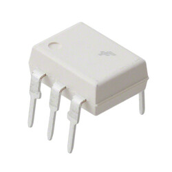 Logic Output Optoisolator 1MHz Open Collector 4170Vrms 1 Channel CMTI 6-DIP - Thumbnail