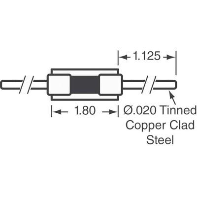 NTC Thermistor 1k DO-204AH, DO-35, Axial