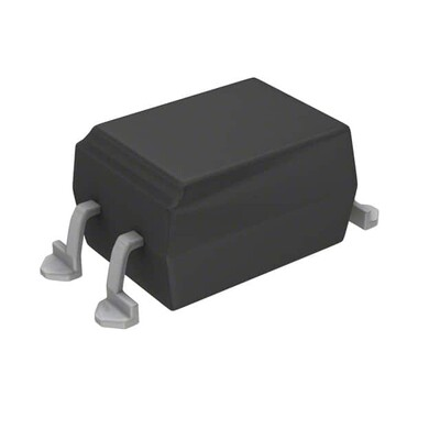 Optoisolator Transistor Output 5000Vrms 1 Channel 4-SMD