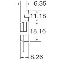 Pressure Sensor Absolute Male 4 SIP Module - Thumbnail