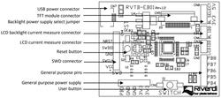 """Revelation Board for 2.83"""", 3.5"""" and 4.3"""" Riverdi TFT modules - Thumbnail"""
