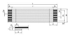 FFC Kablo 0.5mm Pitch 20pin 150mm - Thumbnail