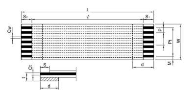 FFC Kablo 0.5mm Pitch 20pin 150mm