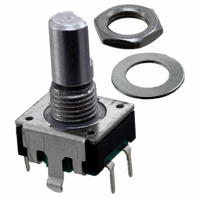Rotary Encoder Mechanical 12 Quadrature (Incremental) Vertical