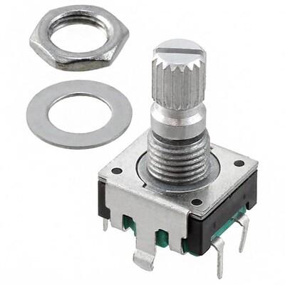 Rotary Encoder Mechanical 24 Quadrature (Incremental) Vertical