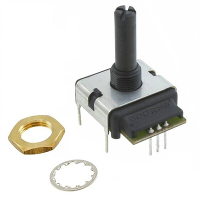 Rotary Encoder Mechanical 24 Quadrature (Incremental) Vertical